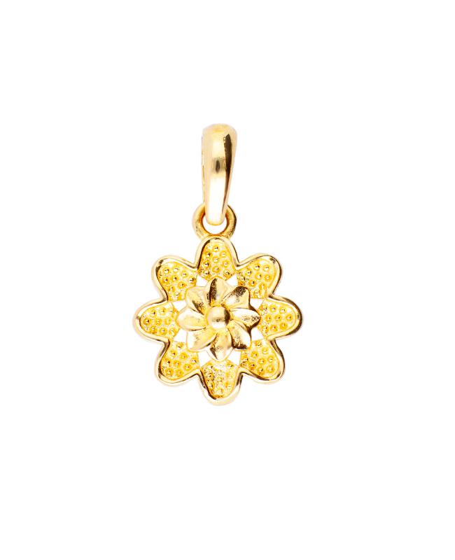 Medalion aur 14k cadouri femei Floricica Acasa