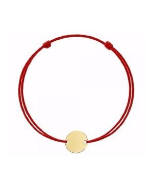 Bratara aur 14k pentru bebelusi copii snur rosu BANUT Acasa