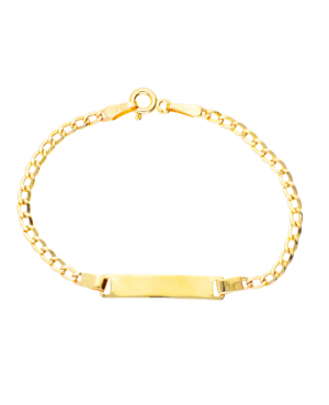 Bijuterii aur galben Bratara copii cu placuta Acasa