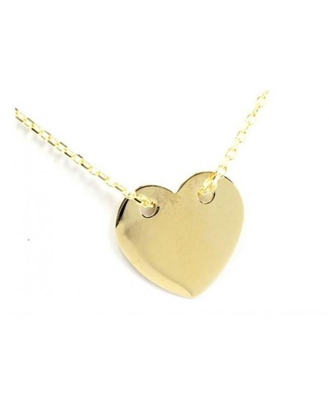 Lanturi de aur femei - Lant de aur 14K dama INIMIOARA Acasa