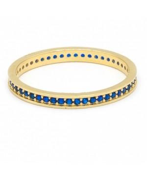 Inel de aur dama verigheta colectie noua SAFIR R14 Acasa