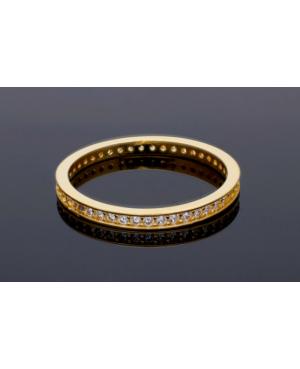 Inel de aur 14k bijuterii dama tip verigheta finuta R9 Acasa