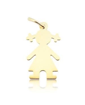 Bratara de aur galben 14K bebelusi copii snur Botez Fetita Acasa