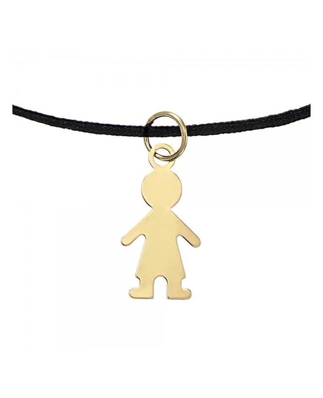 Bratara de aur galben 14K bebelusi copii snur Botez Baiat Acasa