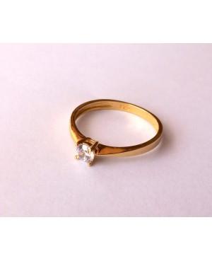 Inel din aur 14k Logodna Solitaire bijuterii dama masura 15 Acasa