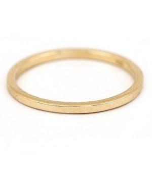 Inel de aur 14k bijuterii dama verigheta simpla R13 Acasa