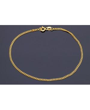 Bratara din aur galben 14K mobila dama/barbat Acasa