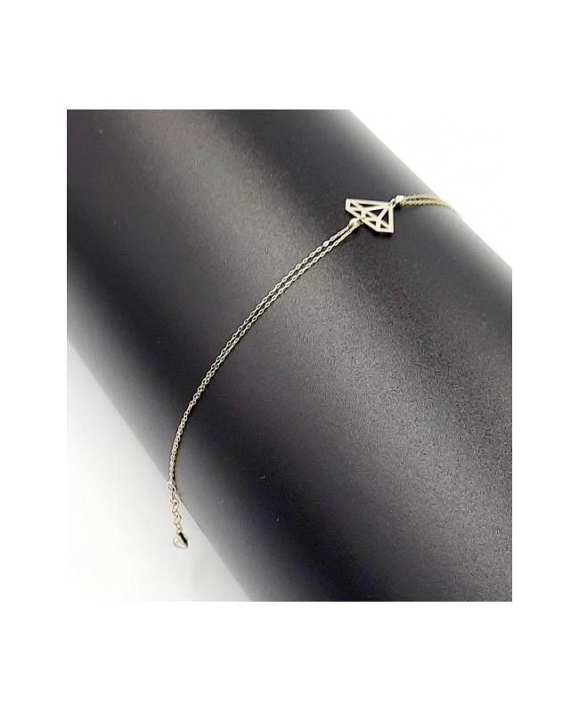 Bratara de aur 14K mobila Diamant- Bratari de aur dama Acasa