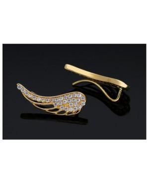 Cercei De Aur 14K Eleganti Pentru Femei Dama Aripi De Inger Cercei din aur dama