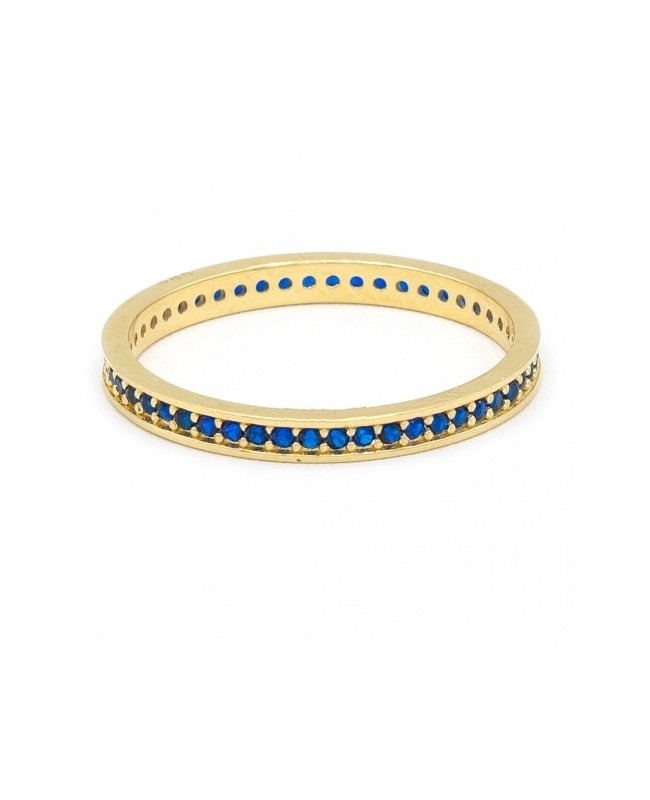 Inel de aur dama verigheta colectie noua SAFIR R15 Acasa