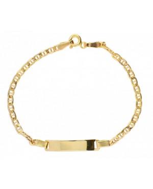 Bratara gravabila bijuterii aur pentru copii Acasa