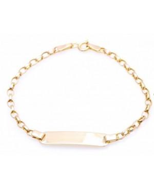 Bratara gravabila bijuterii aur pentru copii si bebelusi Acasa