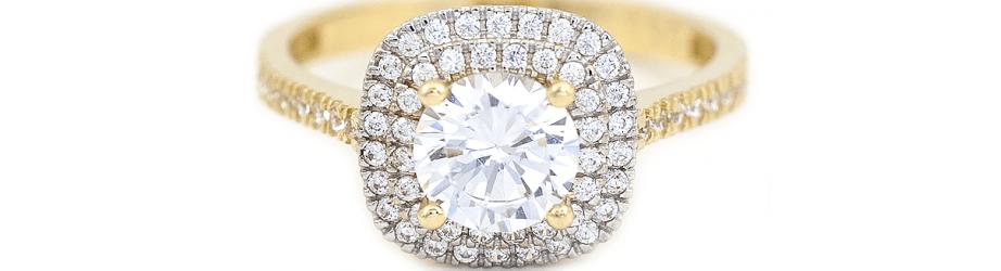 Inele aur de logodna